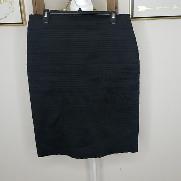 Express Dresses & Skirts - Women's Express Black Pencil Bandage Skirt